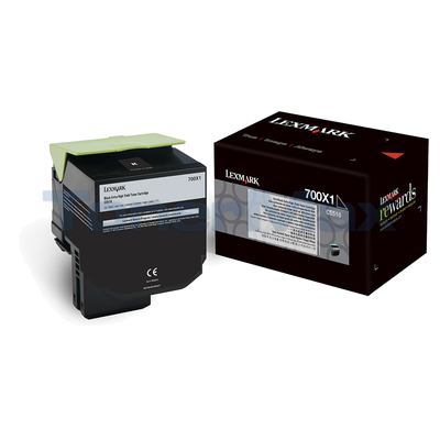 LEXMARK CS510 TONER CARTRIDGE BLACK 8K
